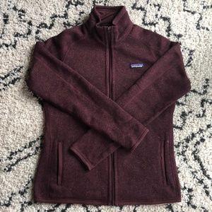 Patagonia | Burgundy Better Sweater Jacket